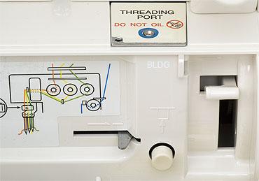 babylock coverstich blcs n hmaschine jet air system ebay. Black Bedroom Furniture Sets. Home Design Ideas