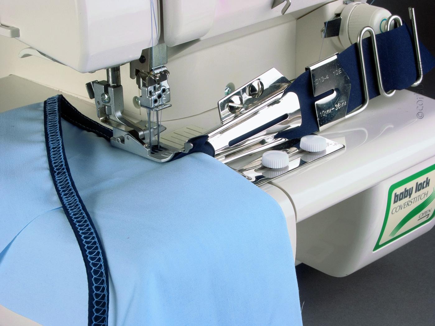 Biaisbandgeleider voor dubbele met geleidingshark